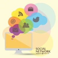 social-media-vector-flat-template_23-2147490797