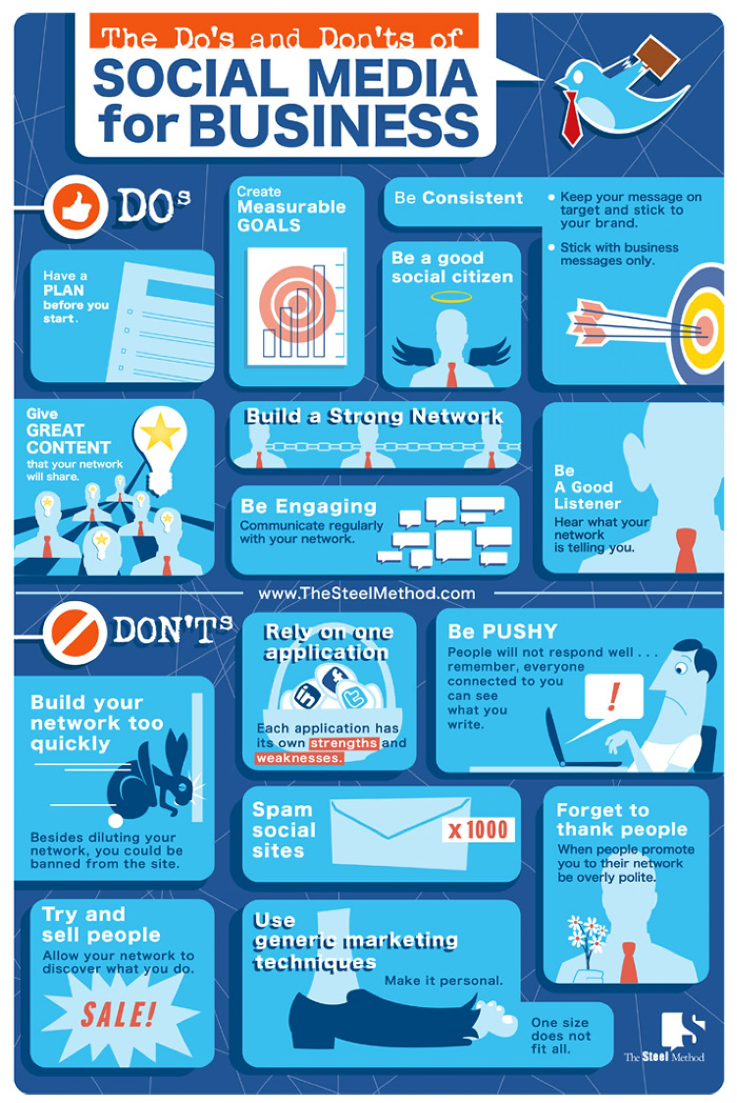 Social Media Etiquette Some Dos And Donts Infographic-1107